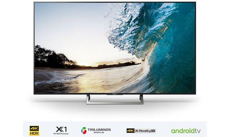 Smart tivi 4K 55 inch Sony KD-55X8500E đắm chìm trong thiết kế siêu mỏng ấn tượng