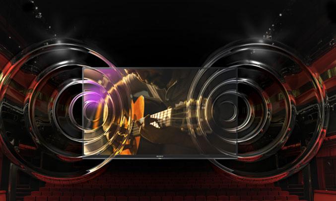 Smart tivi Sony KDL-43W800F âm thanh hay