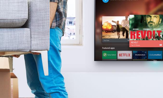 Smart tivi Sony KDL-49W800 giải trí hoàn hảo