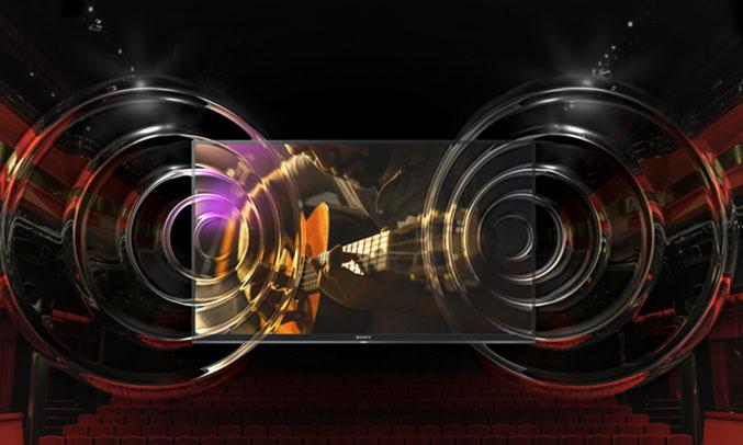Smart tivi Sony KDL-43W660Fâm thanh sống động