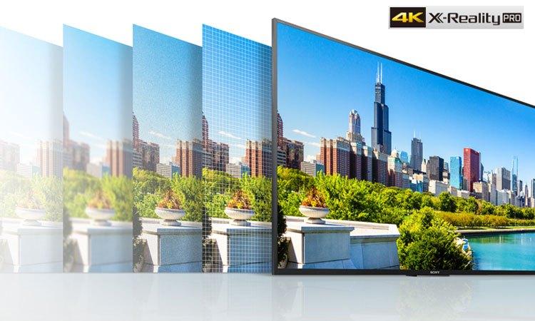Tivi 4K Sony 55 inch KD55X9000E/SVN3 hình ảnh sắc nét đến từng chi tiết