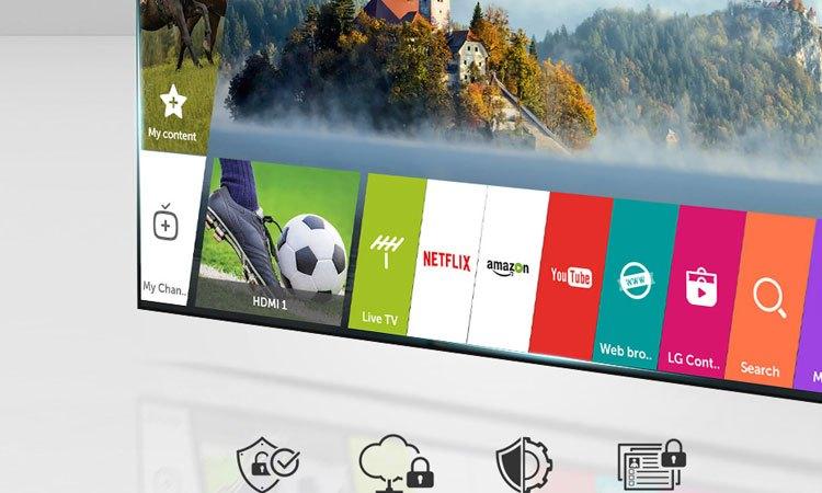 Tivi OLED 4K LG 65 inch 65C7T với trình quản lý bảo mật cao cấp