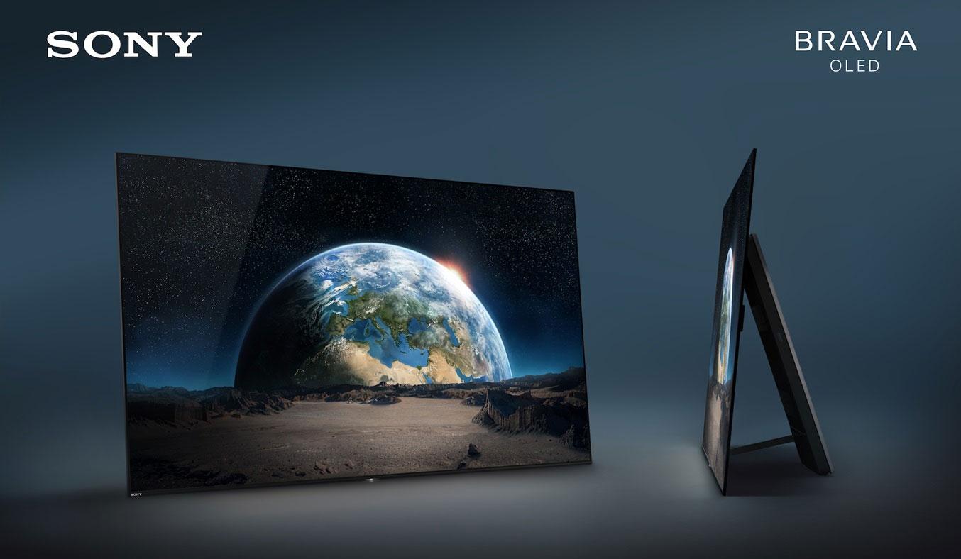 Tivi Sony Bravia OLED 65A1 tích hợp dàn loa siêu khủng