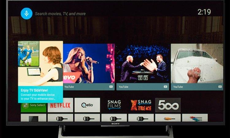 Tìm kiếm nhanh chóng nhờ Voice Search trên Tivi 4K Sony 75 inch KD-75X8500E VN3