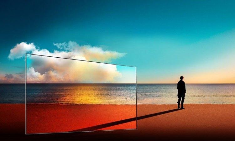 Tivi Sony Bravia OLED 55A1 cho hình ảnh rõ nét, sinh động cùng với bộ vi xử lý hiện đại