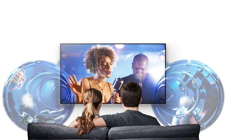 Công nghệ thể hiện âm thanh đầy sống động trên Tivi 4K Sony 75 inch KD-75X8500E VN3