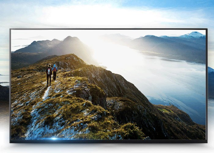Tivi Sony 43 inches KDL-43W750E VN3 có thiết kế mỏng, sang trọng