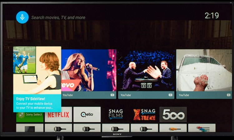 Tivi Sony 49 inch KD-49X9000E VN3 tìm kiếm bằng giọng nói thông minh