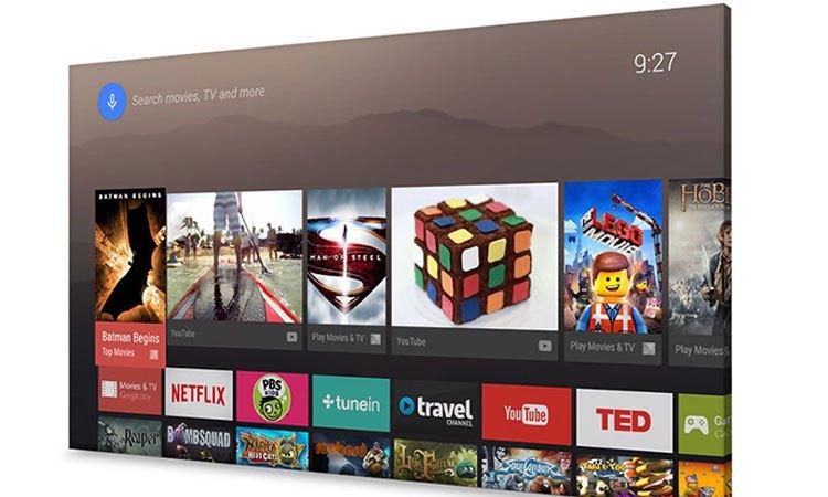 Tivi Sony KD-55X9300E 55 inch kho ứng dụng giải trí phong phú đa dạng