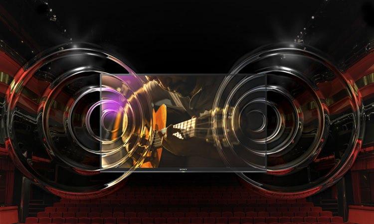 Tivi Sony 65 inch KD65X9000E/SVN3 âm thanh sống động thật ấn tượng