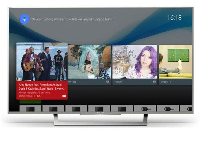 Tivi Sony 49 inches 4K KD-49X8000E VN3 trang bị kết nối Internet