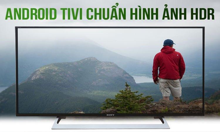 Tivi Sony 55 inch KD-55X8000E/SVN3 màu sắc sống động thật ấn tượng