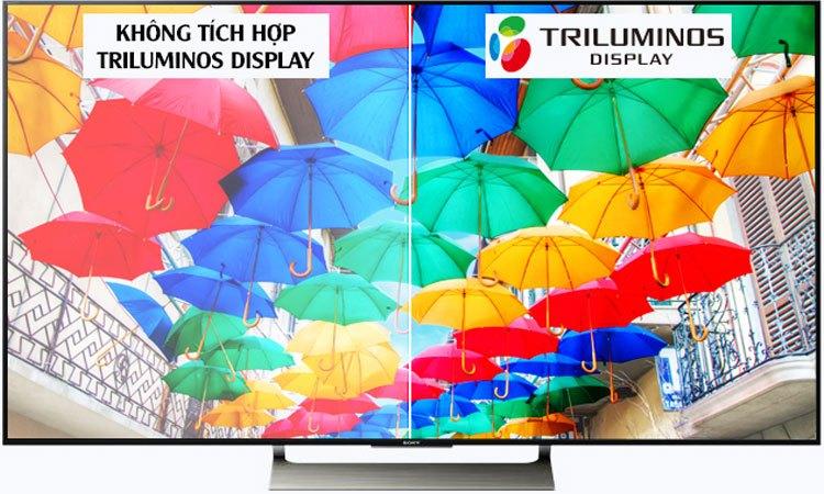 Tivi Sony 55 inches 4K KD-55X9000E VN3 VN3 tích hợp công nghệ Triluminos Display