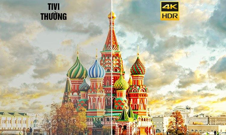 Tivi 4K Sony 65 inch KD-65X90000E VN3 hình ảnh sắc nét đến từng chi tiết