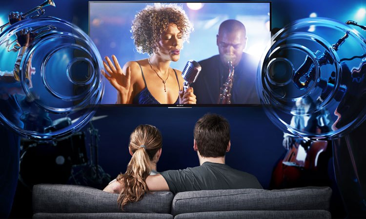 Tivi 4K Sony 65 inch KD-65X9000E VN3 âm thanh sống động thật ấn tượng