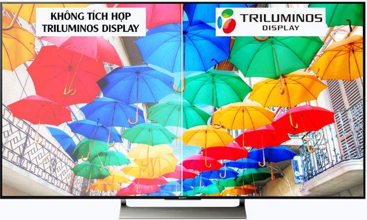 Tivi 4K Sony 65 inch KD-65X9000E VN3 màu sắc tươi sáng, sinh động