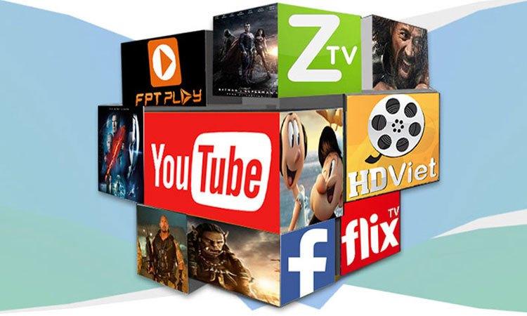 Tivi Sony 75 inch KD-75X9400E VN3 kho ứng dụng giải trí phong phú đa dạng