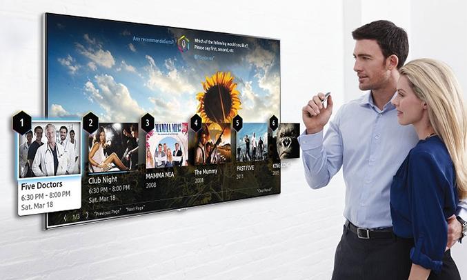 Tivi Sony KD43X8000E/SVN3 kho ứng dụng giả trí phong phú đa dạng
