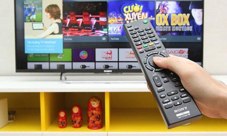 Tivi Sony 32 inch KDL-32W610E VN3 nhiều kênh truyền hình miễn phí, phục vụ nhu cầu giải trí thú vị