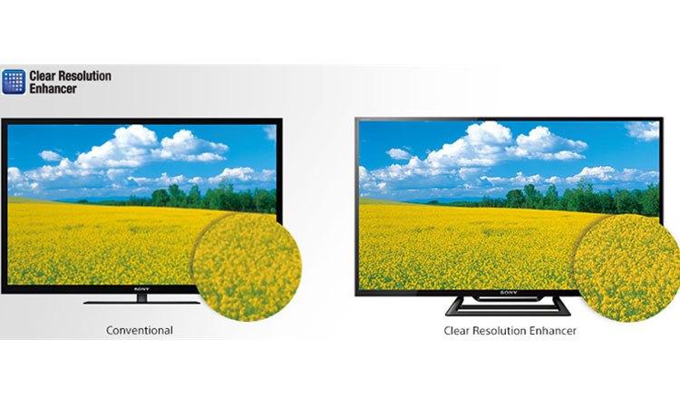 Tivi Sony KDL-40R350E VN3 sắc nét từng chi tiết