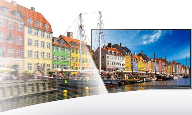 Tivi Internet Sony 40 inch KDL-40W660E VN3 đạt chất lượng hình ảnh sắc nét vượt trội