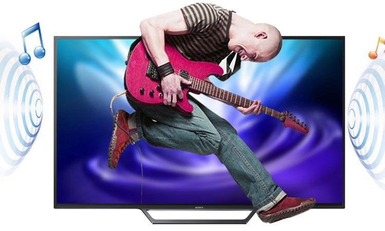 Tivi Internet Sony 49 inch KDL-49W660E VN3 trải nghiệm âm thanh sống động ấn tượng