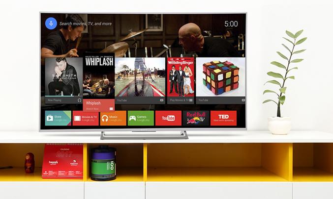 Tivi Sony KD43X8000E/SVN3 tìm kiếm bằng giọng nói thông minh