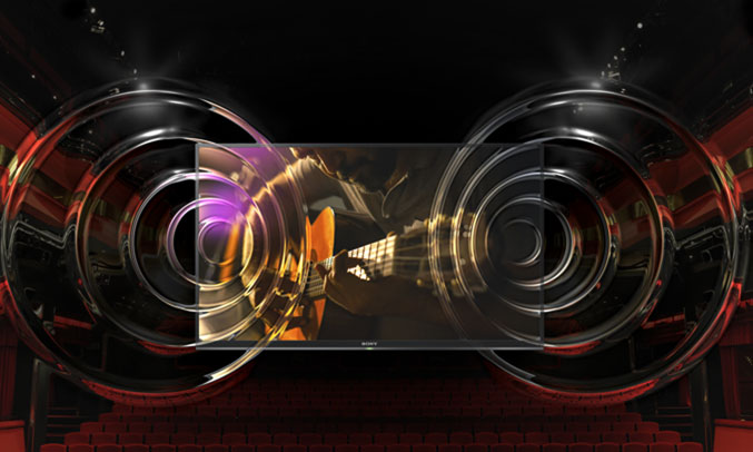 Internet Tivi 32 inch Sony KDL-32W610F âm thanh mạnh mẽ