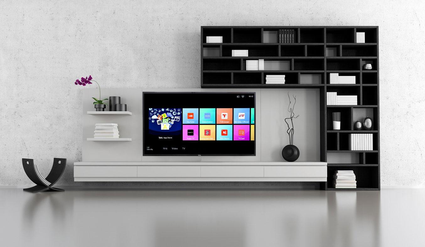 Smart Tivi TCL L40S62 giá tốt phân phối tại nguyenkim.com