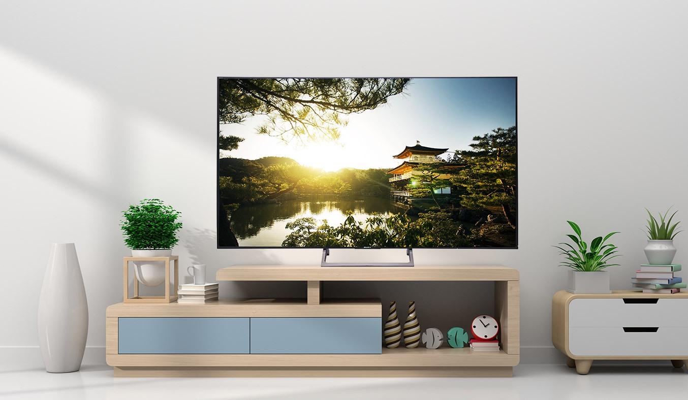 Tivi 4K Sony 75 inch KD-75X8500E VN3 đắm chìm trong thiết kế siêu mỏng ấn tượng