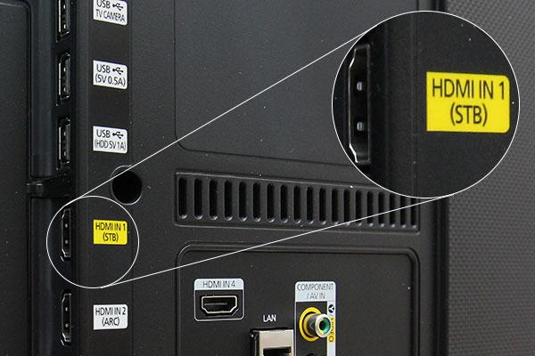 Cổng HDMI là cổng kết nối phổ biến nhất trên tivi hiện nay
