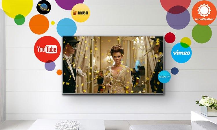Trải nghiệm thế giới giải trí trên smart tivi 4K 55inch Panasonic TH-55EX600V