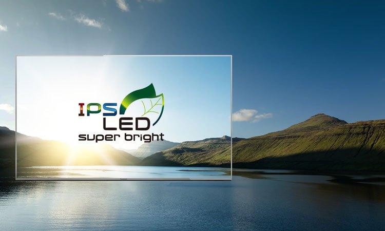 Hình sắc rõ nét ở mọi góc nhìn nhờ màn hình IPS LED siêu sáng