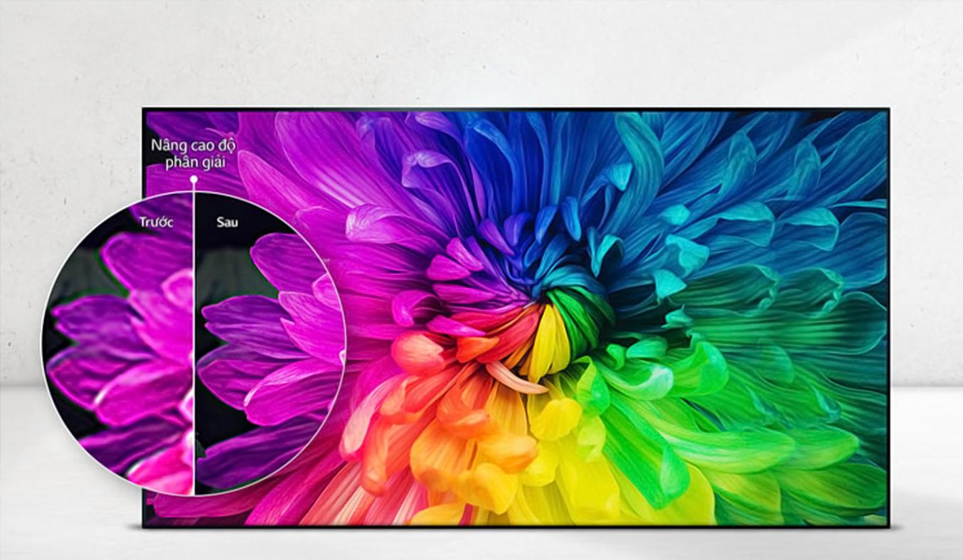 Smart tivi LG 43 inch 43LJ550T màu sắc chân thực