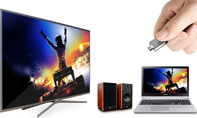 Smart tivi LG 43 inch 43LJ550T kết nối đơn giản