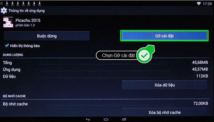 Gỡ những ứng dụng đã quên lãng để giái phóng bộ nhớ cho Smart tivi