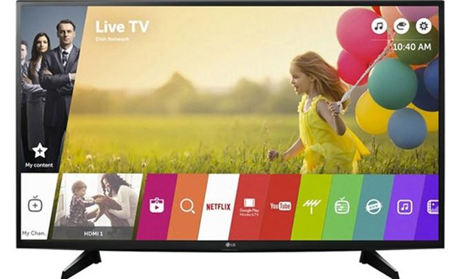 Kho giải trí bất tận trên tivi 4K LG 43 inch 43UJ632T
