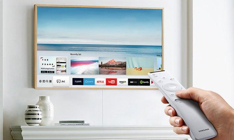 Tivi khung tranh 55inch Samsung UA55LS003AKXXV thiết kế vi diệu