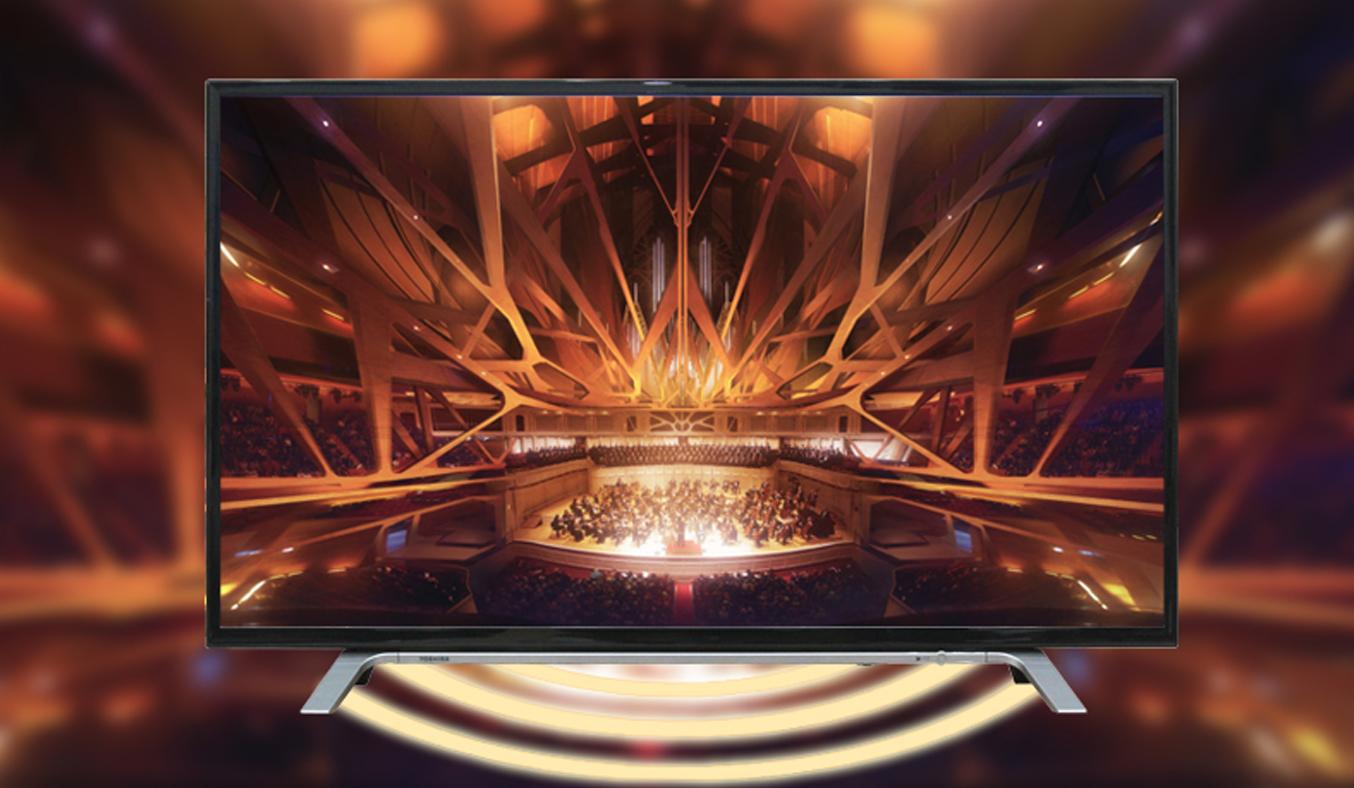 Smart Tivi Toshiba 43L5650VN 43 inch hiện đại