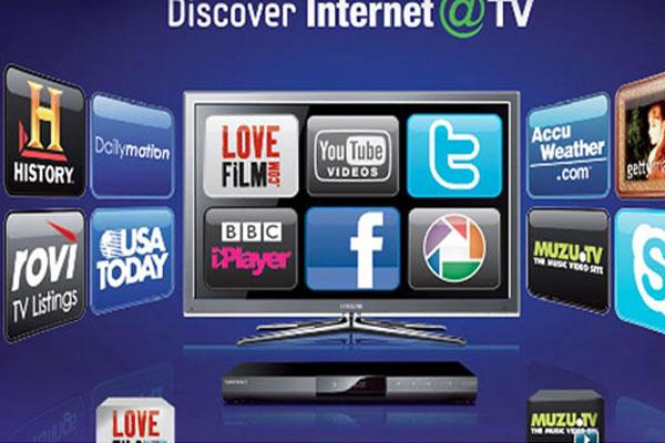 Internet tivi vẫn còn hỗ trợ khá ít ứng dụng