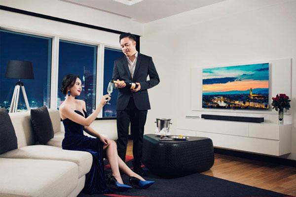 Công nghệ TV QLED của Samsung mang đến đỉnh cao trong việc trải nghiệm hình ảnh
