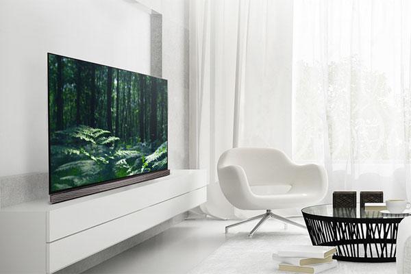 """Tivi OLED với thiết kế mỏng gọn sẽ là """"ứng cử viên"""" sáng giá cho căn phòng khách tích hợp giải trí của bạn"""