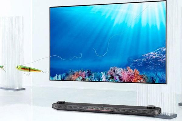 Thiết kế tối giản của tivi LG thế hiện phong cách sống tinh tế, đẳng cấp