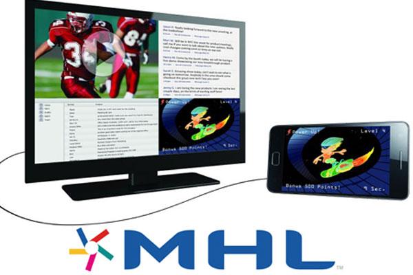 MHL là chuẩn kết nối thông dụng hiện nay