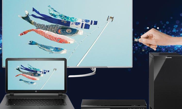 Kết nối dễ dàng, nhanh chóng cùng với hệ thống cổng kết nối được trang bị trên Tivi Oled Sony 4K 65 inch KD-65A1