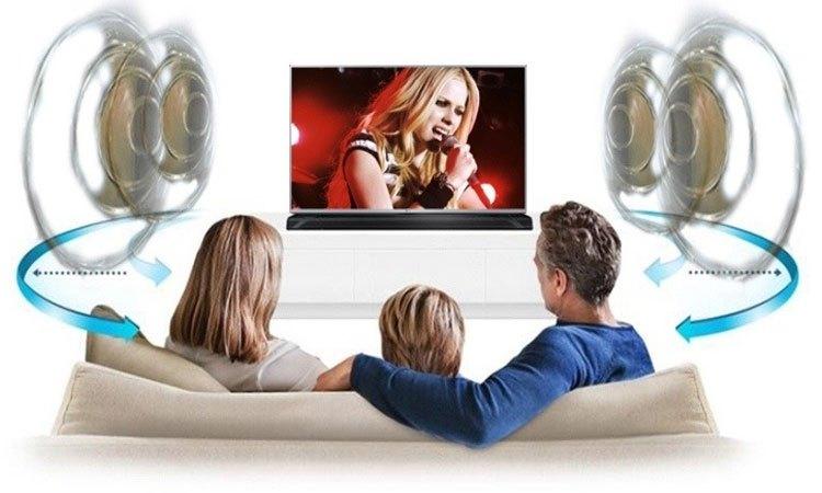 Smart tivi 4K 43inch Toshiba 43U6750VN âm thanh chất vòm sống động mạnh mẽ
