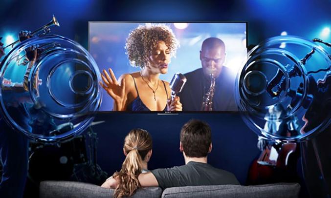 Smart tivi 4K 55 inch Sony KD557000E xem các pha chuyển động nhanh đầy lôi cuốn