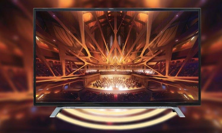 Tivi LED Toshiba 55L3750VN 55 inches âm thanh mạnh mẽ hấp dẫn