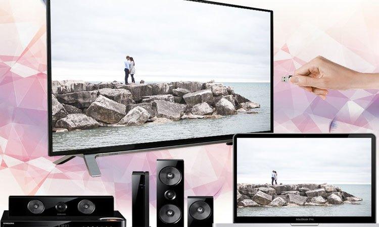 Tivi LED Toshiba 55L3750VN 55 inches chia sẽ và kết nối dễ dàng
