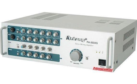 Amply Arirang PA-203XG có thiết kế bắt mắt